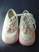 Beautiful Baby Shoes    by Dyna Kids    Perfect for a Doll