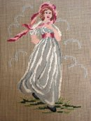 Antique Fine Needlework Pinkie
