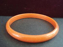 Catalin Bangle Bracelet Orange Colour