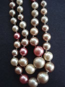 Vintage Necklace Quality Pearls Double Strand