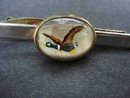 Antique Tie Clip Bubble Glas