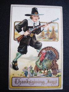 1913 Thanksgiving Postcard