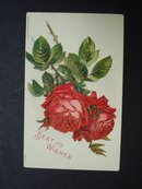 Antique Postcard  1908 Best Wishes