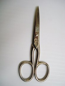 Vintage Scissors signed UK