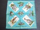 Souvenir Handkerchief Australian Wild Life
