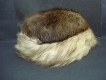 Vintage Mink Hat  Real Fur