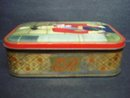 Antique Tin Box English Royalty Queen