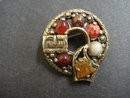 Vintage Celtic Broach Signed Miracle