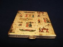 Cigarette Case Deco Egyptian Design