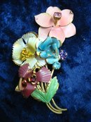 Antique Floral Broach Pin