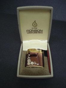 Vintage Ronson Cigarette Lighter Vaflame MK II