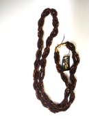 Antique Necklace Chocolate Brown