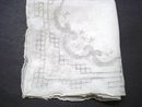 Exquisite Vintage Wedding Handkerchief
