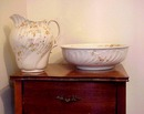 Gorgeous Antique 2 Pc. Vanity Set JUG & BASIN