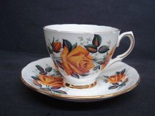 Consort  Teacup and Saucer Set