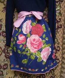 Vintage Apron by St Michael England
