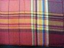 Vintage Handkerchief - Pure Silk - Plaid - Lovely Colours