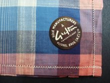 Vintage Handkerchief - Plaid - Lovely Colours