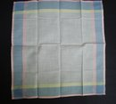 Vintage Handkerchief - Lovely Colours - Ireland