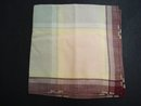 Vintage Handkerchief - Plaid Lovely Colours