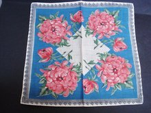 Antique Handkerchief - Beautiful Colours