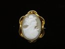Precious Antique Cameo  Brooch Genuine Shell Cameo