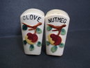 Antique Condiment Shakers Nutmeg and Clove