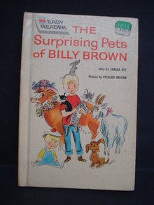 Childrens Book Surprising Pets of Billy Brown