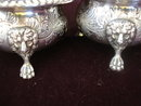 Antique Silver Condiment Servers