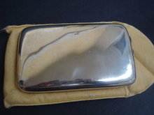 Sterling Cigarette Case Newcastle Hallmarks