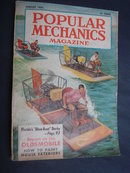 August 1954 Popular Mechanics Magazine