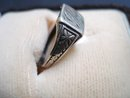 Sterling Silver Ring - Monogram B and F