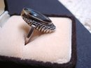 Elegant Vintage Black Alaska Diamond RING