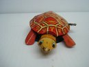 Antique Windup Tin Toy Turtle