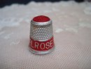 Vintage Thimble Melrose Tea USA