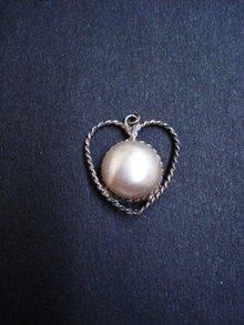 Fantastic  Silver Heart Shape Pendant