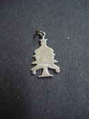 FABULOUS Vintage Sterling Silver Charm - Christmas Tree
