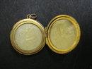 Stunning Victorian Gold Locket Monograms