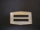 Pretty Vintage Belt Buckle Genuine Mother of Pearl