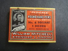 W Mitchell Pen Box - British Pens - Hand Pens