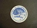 Collectible 1986 Royal Copenhagen Plate - Miniature