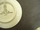 Collectible 1986 Royal Copenhagen Plate - Miniature