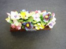 Antique China Flowers Floral Ornament