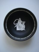 Royal Bayreuth Bavaria Bowl - Black Basalt Bowl - Goddess