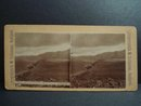 Original Antique Stereoscopic Card Iceland Traveling on Horses