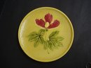 Antique Plate - Majolica Design - Floral