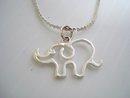 Sterling Bracelet Silver Elephant