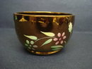 Antique Wade Sugar Bowl Copper Luster Finish