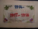 Silk Embroidery Postcard - 1914 - 2918 - World War One