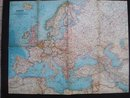 1962  Map of  Europe   Atlas Plate 30
